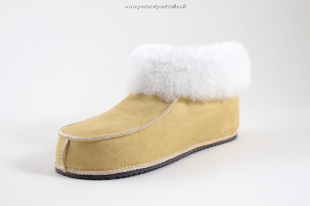 c961c70a82b8 Chaussons et pantoufles mouton - charentaises